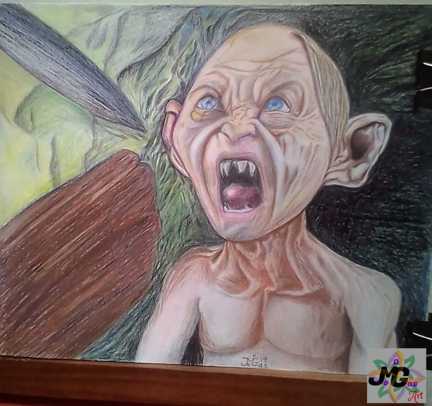 Gollum by miguelg